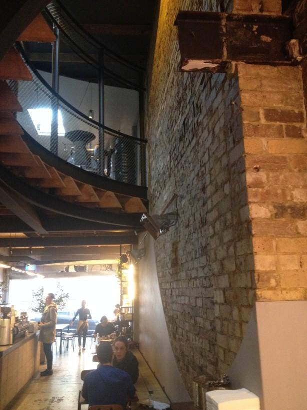 A rustic warehouse conversion
