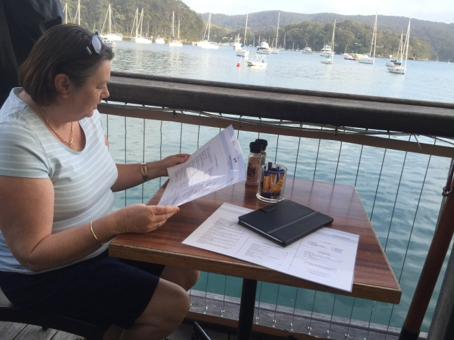 The Waterfront Cafe on Pittwater at Church Point