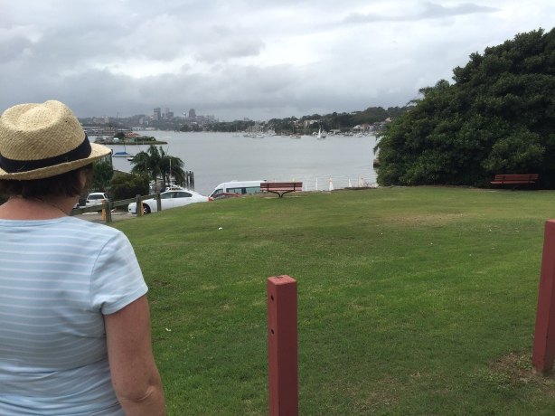 View towards Schnapper Island and North Sydney from Drummoyne