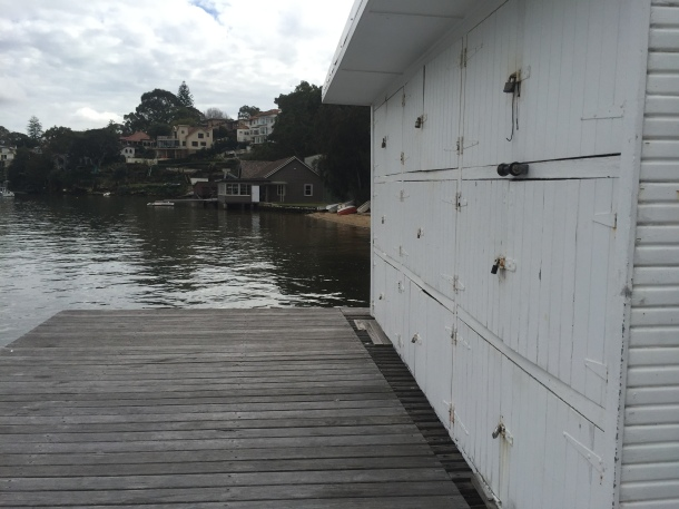 Boatshed. Get your own scull out of the club without security issues.