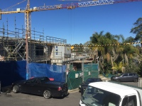 Massive houses with amazing views being built at Linley Point